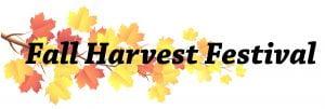 Fall Harvest Festival Logo