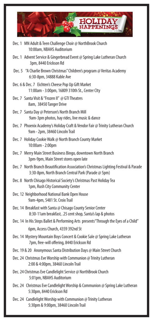 2019 Holiday Events