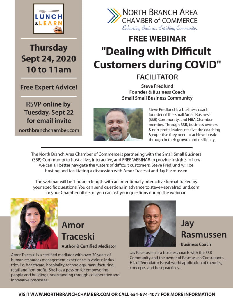 Dealing With Difficult Customers Webinar