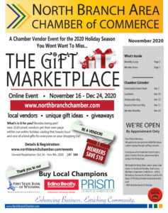 North Branch Chamber of Commerce November 2020 Newsletter
