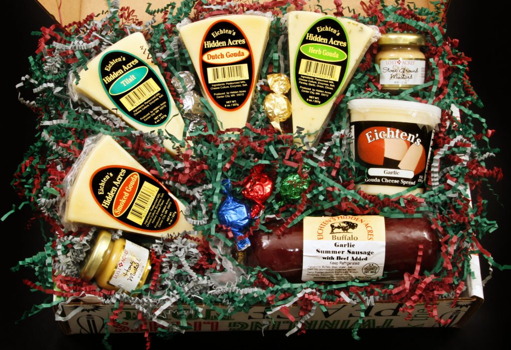 Marys Cheese and Sausage Gift box