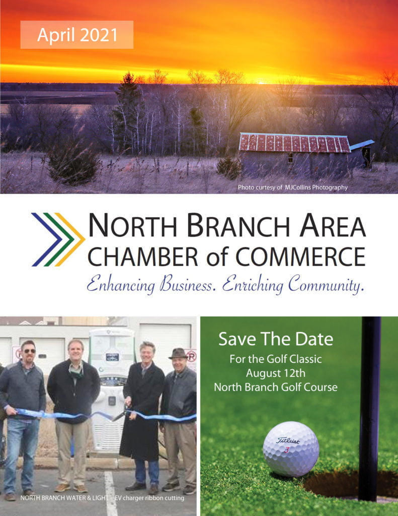 North Branch Chamber of Commerce April Newsletter