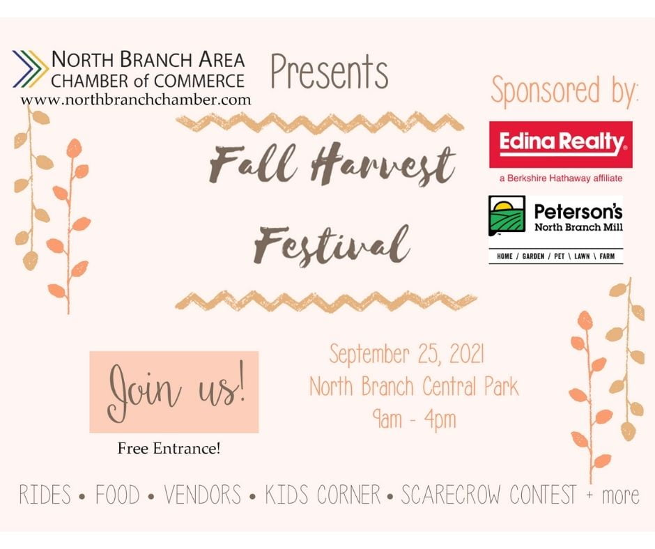 Fall Harvest Festival Announcement Ad